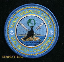 US NAVAL WEAPONS STATION SEAL BEACH HAT PATCH USS PIN Concord Fallbrook WPNSTA