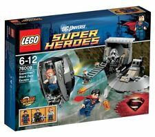 LEGO Super Heroes 76009: Superman Black Zero Escape - Brand New