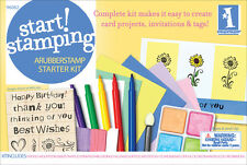 INKADINKADO Start Stamping Kit 96082  7 stamp 2 ink 4 chalk