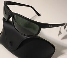 NWT RAY BAN Men's RB 2027 W1847 PREDATOR 2 MATTE BLACK 100% UV SUNGLASSES