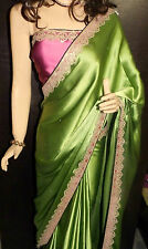 Lovely EthnicWear Latest Designer Saree With Contrast Mauve Blouse On Discount