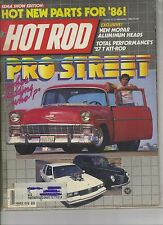 Hot Rod Magazine November 1985 Issue Pro Street 1955 Chevrolet on the Cover