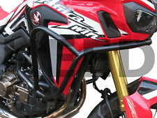 CRASH BARS HEED HONDA CRF 1000 Africa Twin DCT Basic - black + Bags