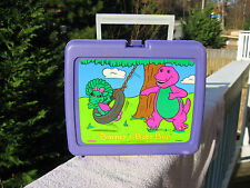 Barney The Dinosaur & Baby Bop Plastic Lunch Box 1992
