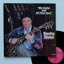 "Vinyle 33T Sacha Distel  ""My guitar and all that jazz"""