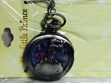 THE LITTLE PRINCE POCKET WATCH NECKLACE NEW