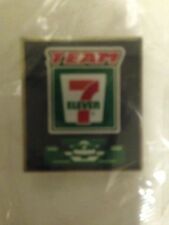 TEAM 7-ELEVEN RACING PIN 7-11 MINT UNOPENED PACKAGE PINBACK IRL Indy500
