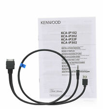 Kenwood KCA-IP22F iPod Cable Audio Video to Kenwood DVD Receivers New KCAIP22F