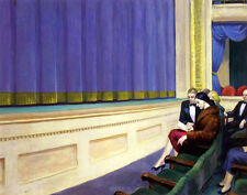 Hopper Edward First Row Orchestra Canvas 16 x 20  #4700