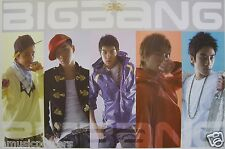 "BIG BANG ""GROUP WEARING COLORFUL COATS"" POSTER FROM ASIA -Korean Boy Band, K-Pop"