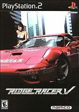Ridge Racer V (PS2), Acceptable PlayStation2, Playstation 2 Video Games