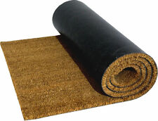 Heavy Duty Natural Coconut Coir, Door Mat Entrance Mat 1mx2mx15mm
