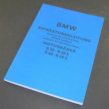 Reparaturanleitung BMW R 50 bis R 69 S - deutsch/englisch/spanisch/französisch