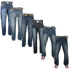 MENS LOYALTY & FAITH SEVEN SERIES STRAIGHT COMFORT JEANS ALL WAIST & LEG SIZES