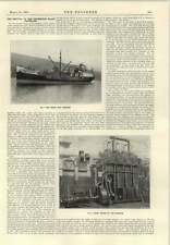 1915 Motor Ship Poseidon Diesel Engines Reversible Propeller