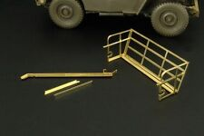 Hauler Models 1/35 WILLYS JEEP REAR BASKET AND WIRE CUTTER Photo Etch Detail Set