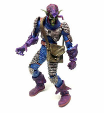 "Very Detailed Marvel Comics Spiderman 12"" GREEN GOBLIN villain toy figure RARE"