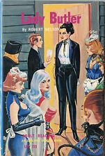 Vintage Sleaze PB Paperback - Lady Butler Eric Stanton 1968 Unique Books Sleeze