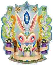 Magic Jackalope Sticker Decal Artist Aaron Marshall AM7
