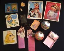 Lot Miss Piggy Note Pads Paper Holder Stickers Bookmarks Pins Key Chains Cards