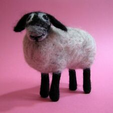 Needle Felting Kit - Make Own Swaledale Sheep - British Wool Design Craft Gift