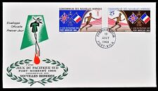New Hebrides Condominium First Day Cover FDC 1969 South Pacific Games
