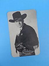 Original c1950's Tex Ritter Cowboy Postcard - Unused Stock Item