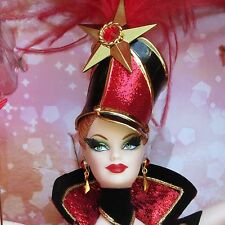 Circus Barbie Doll And Shipper Box By Bob Mackie 2010 Gold Label RARE NRFB MIB