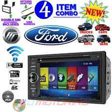 "FORD MERCURY 6.2"" TOUCHSCREEN BLUETOOTH CD DVD USB DOUBLE DIN CAR RADIO STEREO"