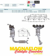 Pot catalytique Ford Ka 1.3i 8V 1299cc 44Kw/60cv BAJA 10/04 11/08, Magnaflow