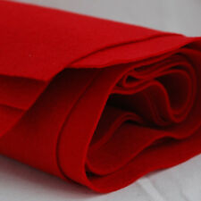 100% Wool Felt Fabric - 1mm Thick - Made in Western Europe - 1 Metre x 160cm