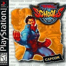 Rival Schools (Sony PlayStation 1, 1998) PS1 Complete Case Manual Discs MINT