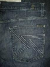 Seven 7 for all Mankind Jeans Austyn Dark Wash Straight Leg Stretch Size 36X34
