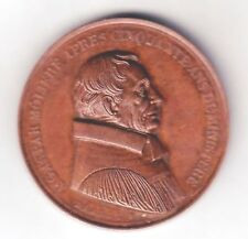 C2616    FRENCH CHURCH of BERLIN, GERMANY  BRONZE   MEDAL, GASPAR  MOLIERE  1843