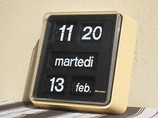 BODET FANTASTIC MADE IN FRANCE WATCH TAGS WALL VINTAGE COMPLETO DI SUPPORTO MURO