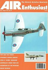 AIR ENTHUSIAST AUTUMN 95: MIRAGE IIIV VTOL/ SEA FURY TRAINER/ F8U-3 CRUSADER III