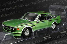 Minichamps Diecast BMW 3.0 CSL E9 Coupe 1975 GREEN Metallic 1/18