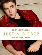 Justin Bieber book Just Getting Started (Hardcover) BRAND NEW!!