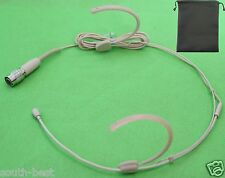 Headset Microphone Mic For Audio Technica Comfortable Hook design Protection bag