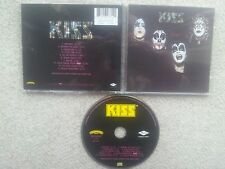 KISS SAME KISS FIRST ALBUM CENSORED LOGO COLLECTORS EDITION CD RARE !