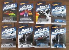 Hot Wheels 2017 Fast and Furious Complete Set of Eight