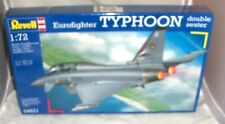 1:72 REVELL AG OF GERMANY EUROFIGHTER TYPHOON 2 SEAT VERSION #4621 PLASTIC KIT