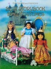 """Best Storybook Doll Costumes 18"""" Doll Cloths Patterns by Joan Hinds"""