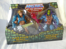 Motu Masters of the Universe Classics - Laser Light He Man / Skeletor 2 Pack MOS