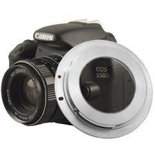 M42 Objektiv Adapter Green.L kompatibel mit Canon EOS 650D 600D 550D 450D 5D 7D