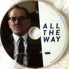 ALL THE WAY, FYC HBO MOVIE EMMY DVD BRYAN CRANSTON as LBJ ANTHONY MACKIE  2016