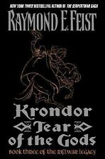 Krondor: Tear of the Gods (Riftwar Book 3) Raymond Feist Hardcover