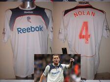 Bolton Wanderers NOLAN Adult L BNWT Shirt Jersey Football Soccer Reebok New 2008