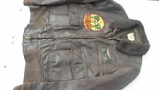 USMC HMA 269 Marine Attack Helicopter Squadron The Gunrunners G-1 Leather Jacket
