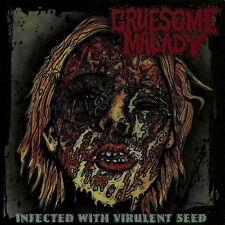 """Gruesome Malady """"Infected With Virulent Seed"""" CD [GORE GRIND FROM INDIA]"""